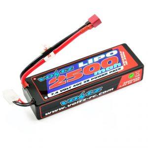 2500 mah Lipo battery